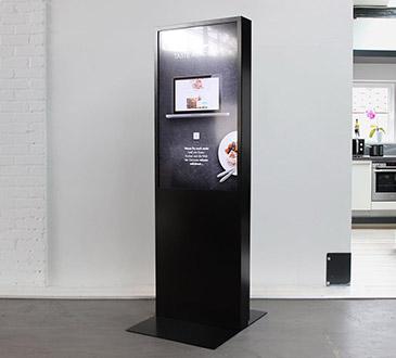 Standalone Display für Kochschulen