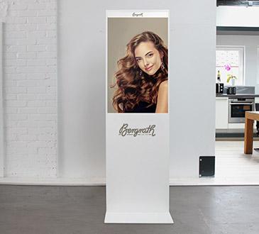 Signage Ambience für den Salon